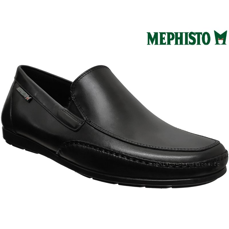 achat mephisto, Andreas, Noir cuir chez www.mephisto-chaussures.fr (63040)