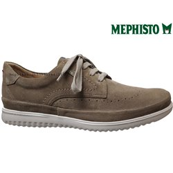 le pecq, Thibault, Taupe velours chez www.mephisto-chaussures.fr (63113)