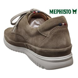 le pecq, Thibault, Taupe velours chez www.mephisto-chaussures.fr (63115)