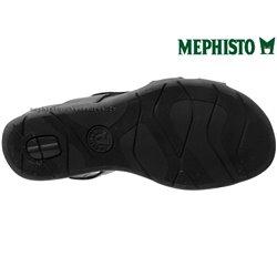 b1ecc28c31aeba Mephisto Juliet Noir cuir Sandale Pointure 36