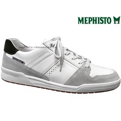 achat mephisto, Russel, Blanc cuir chez www.mephisto-chaussures.fr (63359)