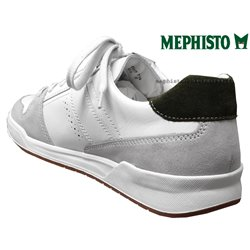 achat mephisto, Russel, Blanc cuir chez www.mephisto-chaussures.fr (63361)