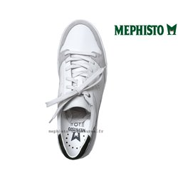 achat mephisto, Russel, Blanc cuir chez www.mephisto-chaussures.fr (63362)