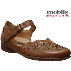 Mobils by Mephisto Florina perf Marron cuir ballerine