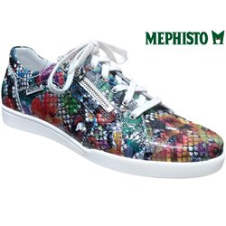 Mephisto Diamanta Multicouleur cuir basket_mode_basse