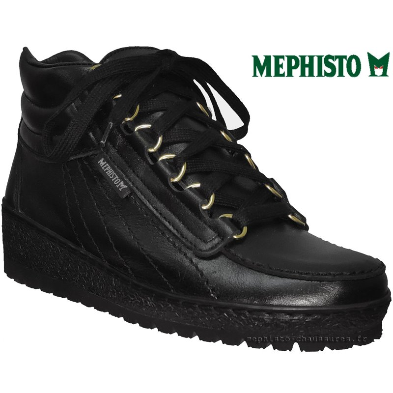 achat mephisto, Laurie, Noir cuir chez www.mephisto-chaussures.fr (63748)