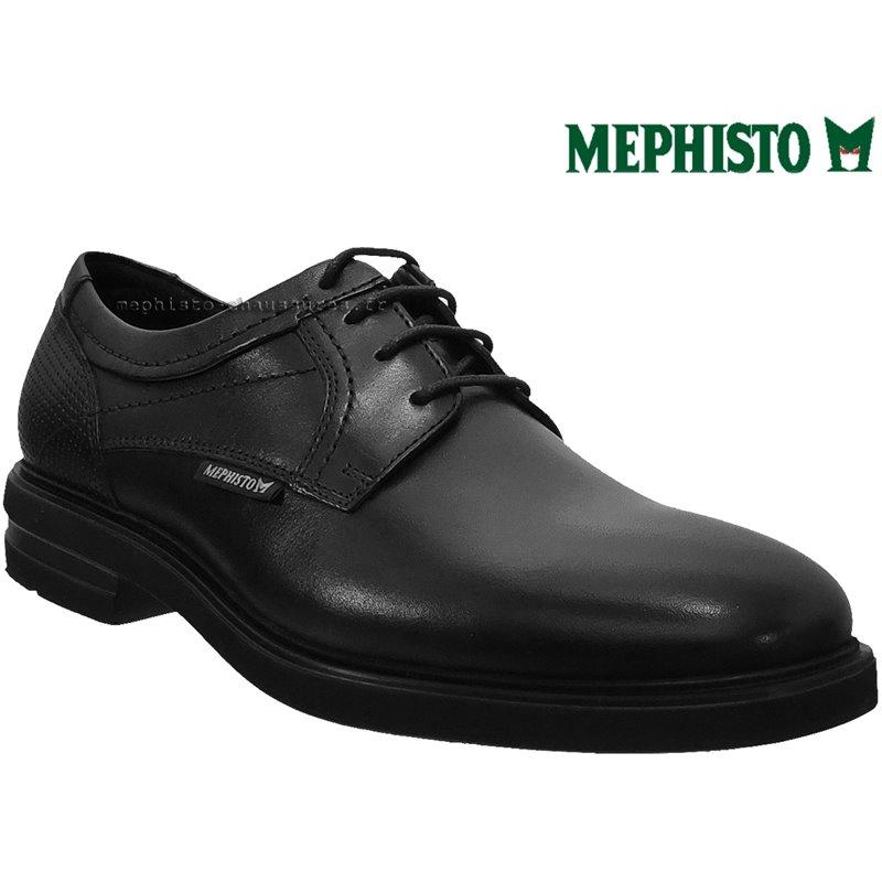 achat mephisto, Olivio, Noir cuir chez www.mephisto-chaussures.fr (64618)
