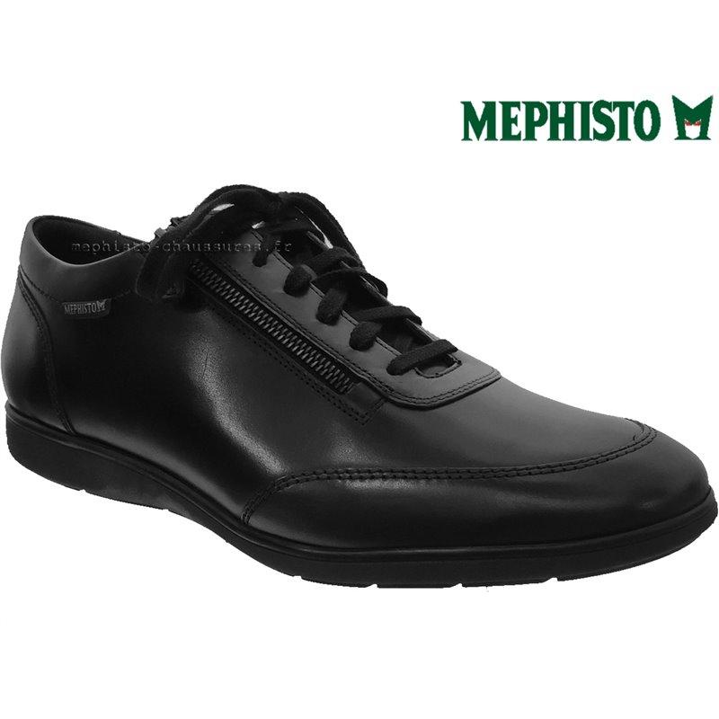 achat mephisto, Laurent, Noir cuir chez www.mephisto-chaussures.fr (64623)
