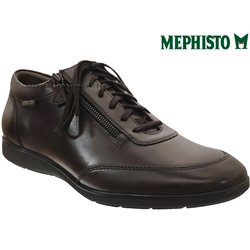 Mephisto Laurent Marron cuir lacets_richelieu