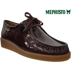 Mephisto CHRISTY Bordeaux vernis lacets_derbies