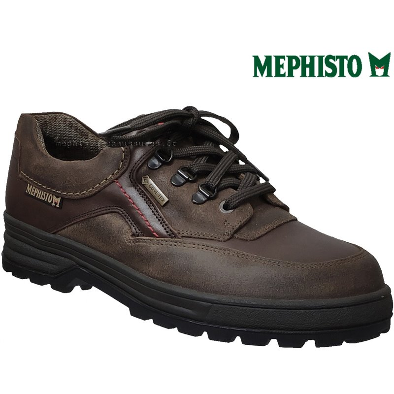 Mephisto BARRACOUDA Marron cuir lacets_derbies
