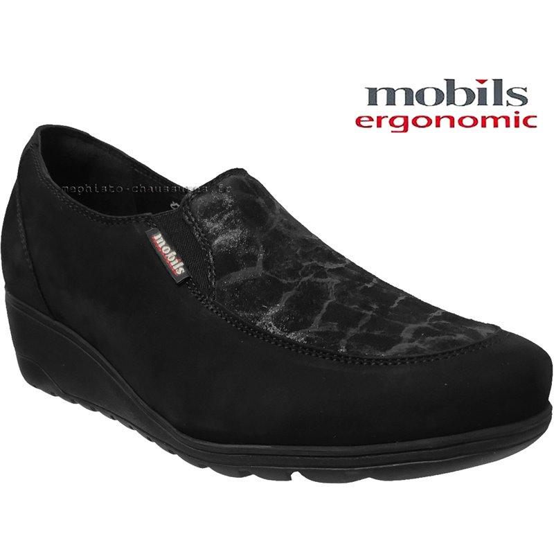 achat mephisto, Bertrane, Noir velours chez www.mephisto-chaussures.fr (64668)