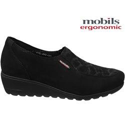 achat mephisto, Bertrane, Noir velours chez www.mephisto-chaussures.fr (64669)