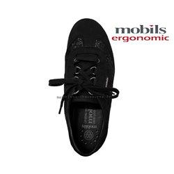 Mobils by Mephisto Liria Noir velours lacets_richelieu