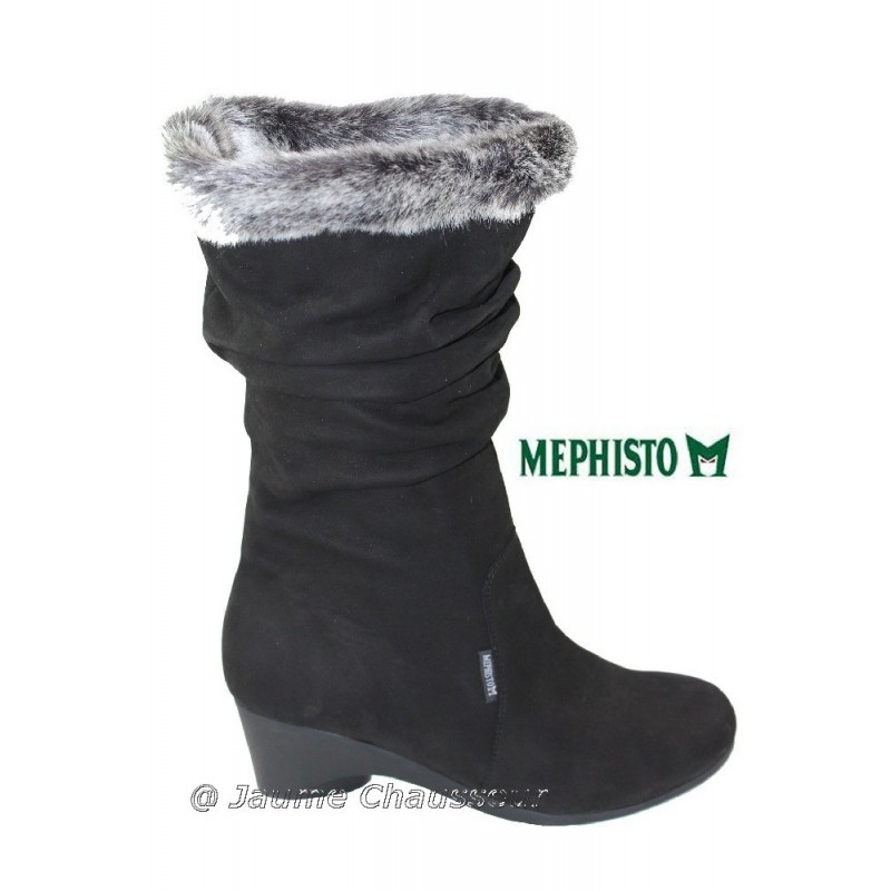 chaussures Femme MEPHISTO TYANA Noir nubuck 648