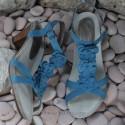 MEPHISTO Femme Sandale CLESIA Bleu nubuck 6487