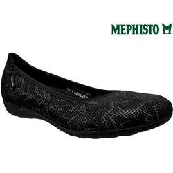 Mephisto EMILIE Noir/gris cuir ballerine