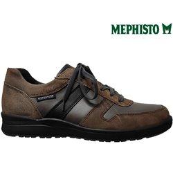 Mephisto Vito Marron/gris cuir lacets_richelieu