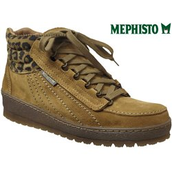 Mephisto Laurie jaune velours bottillon