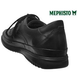 Mephisto Tedy Noir cuir lacets_derbies