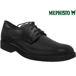 Mephisto Smith Noir cuir lacets_derbies