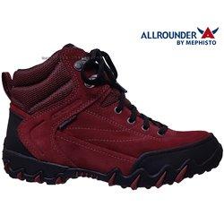 le pecq, Nigata-tex, Rouge velours chez www.mephisto-chaussures.fr (66047)