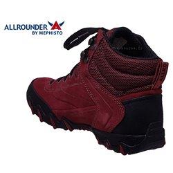 le pecq, Nigata-tex, Rouge velours, 38.7FR - EUR5.5 chez www.mephisto-chaussures.fr (66049)