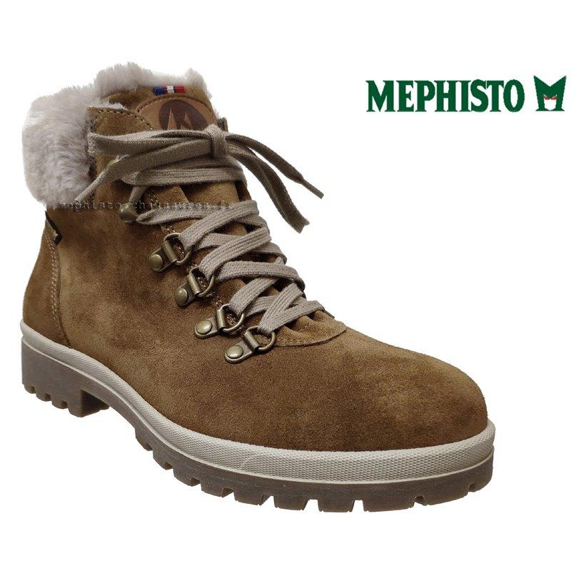achat mephisto, Zelda, Marron velours chez www.mephisto-chaussures.fr (66056)