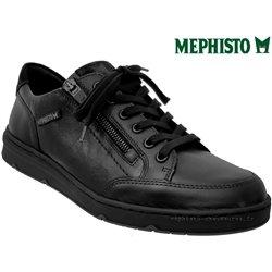 Mephisto Jeremy Noir cuir lacets_derbies