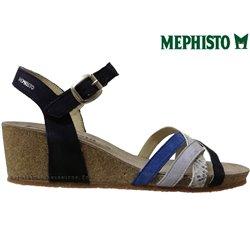 le pecq, Mado, Bleu multi chez www.mephisto-chaussures.fr (67036)