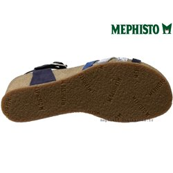 le pecq, Mado, Bleu multi chez www.mephisto-chaussures.fr (67037)