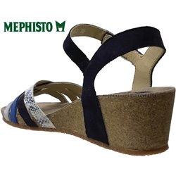 le pecq, Mado, Bleu multi chez www.mephisto-chaussures.fr (67038)