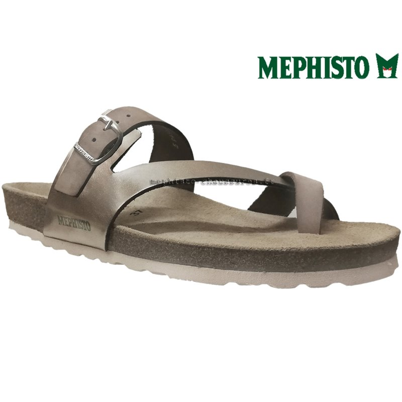 le pecq, Nalia, Beige cuir chez www.mephisto-chaussures.fr (67090)