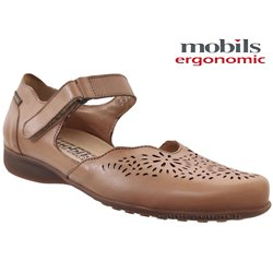 Mobils by Mephisto Florina perf Marron clair cuir ballerine 67270