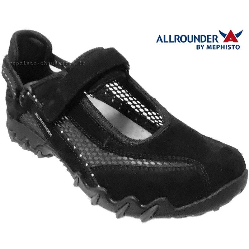 le pecq, NIRO_FILET, Noir velours chez www.mephisto-chaussures.fr (67375)