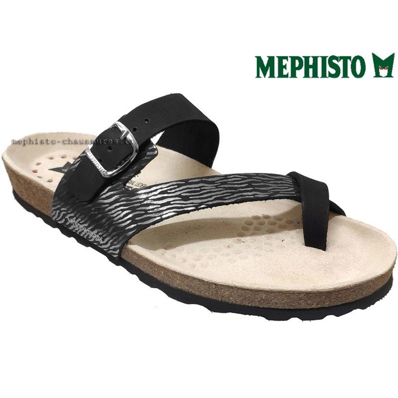 le pecq, Nalia, Noir/Argent chez www.mephisto-chaussures.fr (67400)