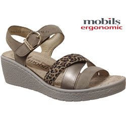 Mobils by Mephisto PIETRA Marron cuir/velours sandale