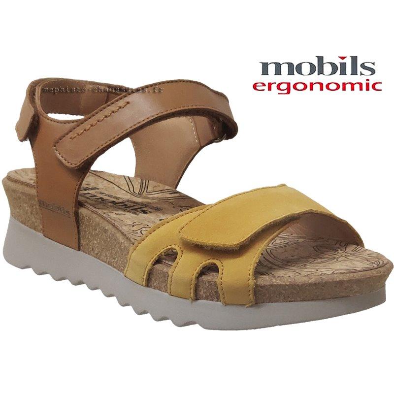 achat mephisto, Quirina, Jaune nubuck chez www.mephisto-chaussures.fr (67430)