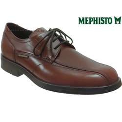 Mephisto Saverio Marron cuir lacets_derbies