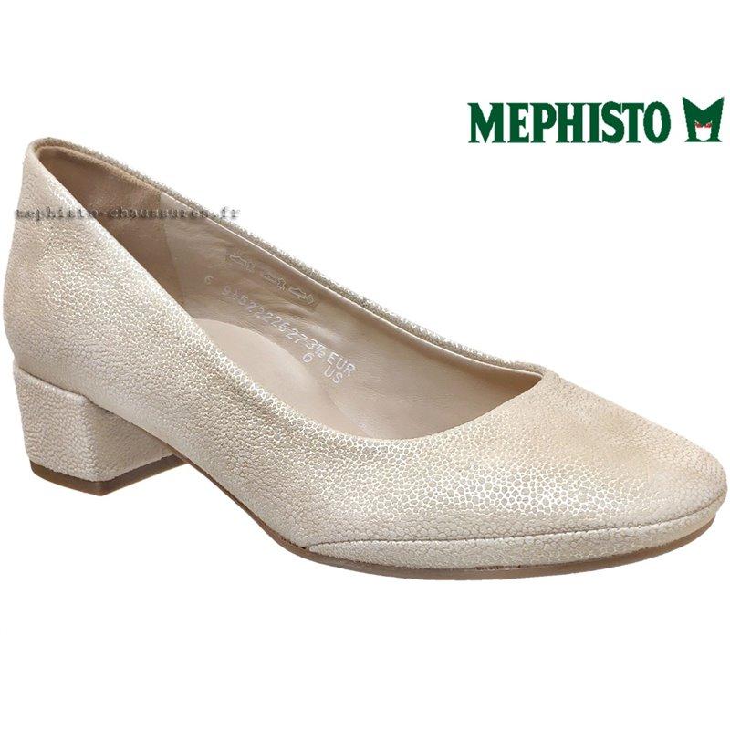 achat mephisto, Brity, Ecru cuir chez www.mephisto-chaussures.fr (67555)