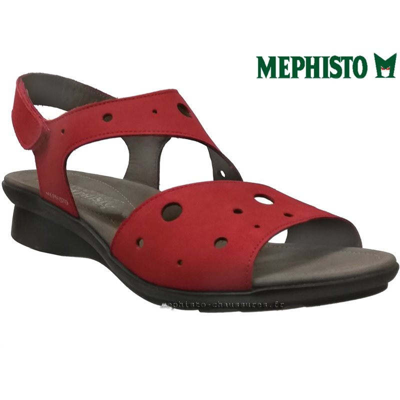 achat mephisto, Phiby_perf, Rouge nubuck chez www.mephisto-chaussures.fr (67820)