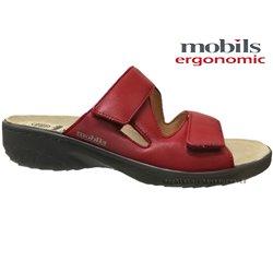 le pecq, Geva, Rouge cuir chez www.mephisto-chaussures.fr (67831)