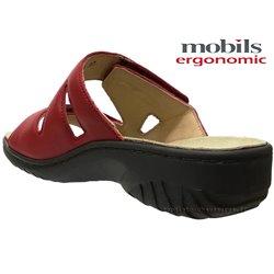 le pecq, Geva, Rouge cuir chez www.mephisto-chaussures.fr (67833)