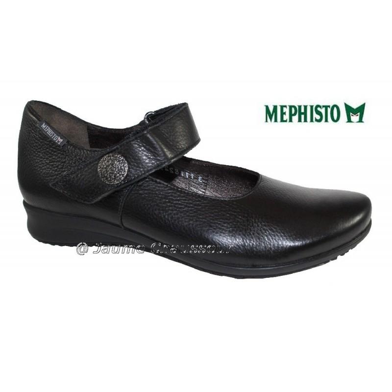 chaussures Femme MEPHISTO FELINE Noir cuir 682