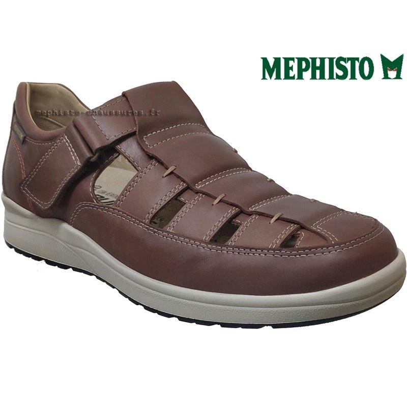 Mephisto Vilson Marron moyen cuir sandale