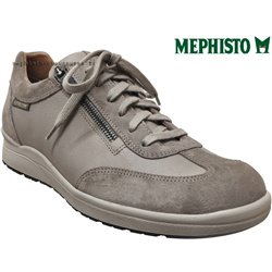 Mephisto Valio Taupe cuir basket_mode_basse
