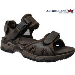 Allrounder ALLIGATOR Marron foncé cuir sandale 69164