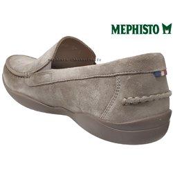le pecq, Ianik, Taupe Velours chez www.mephisto-chaussures.fr (69297)