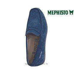 Mephisto ALYON Bleu velours mocassin 69413