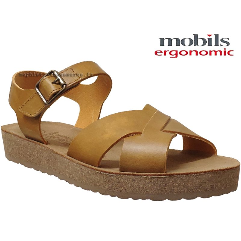 le pecq, Candie, Jaune cuir chez www.mephisto-chaussures.fr (69919)